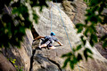 Climbing in the New River Gorge